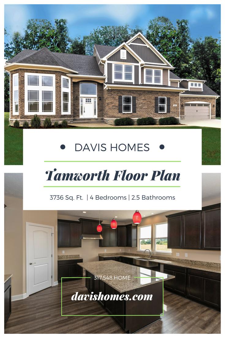 Pin On Tamworth Floor Plan Davis Homes