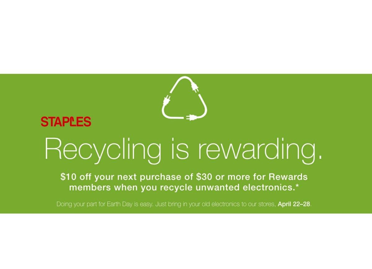 Staples coupons for electronics