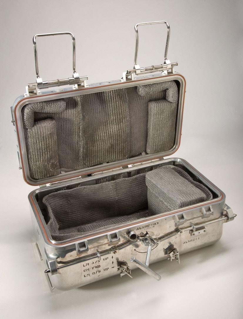 Американский контейнер для лунного грунта. ALSRC, Apollo Lunar Sample Return Container