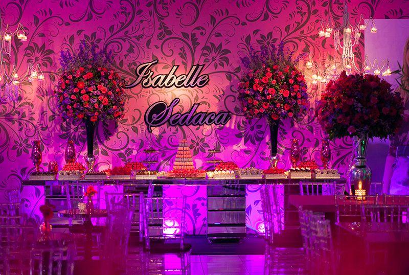 83b5841de Festa rosa ♥ Isabelle – Inesquecível Festa 15 Anos | Aniversário ...