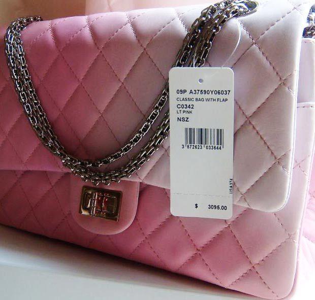 Bag CHANEL Vintage Mini Square Pink Lambskin Gold Hardware