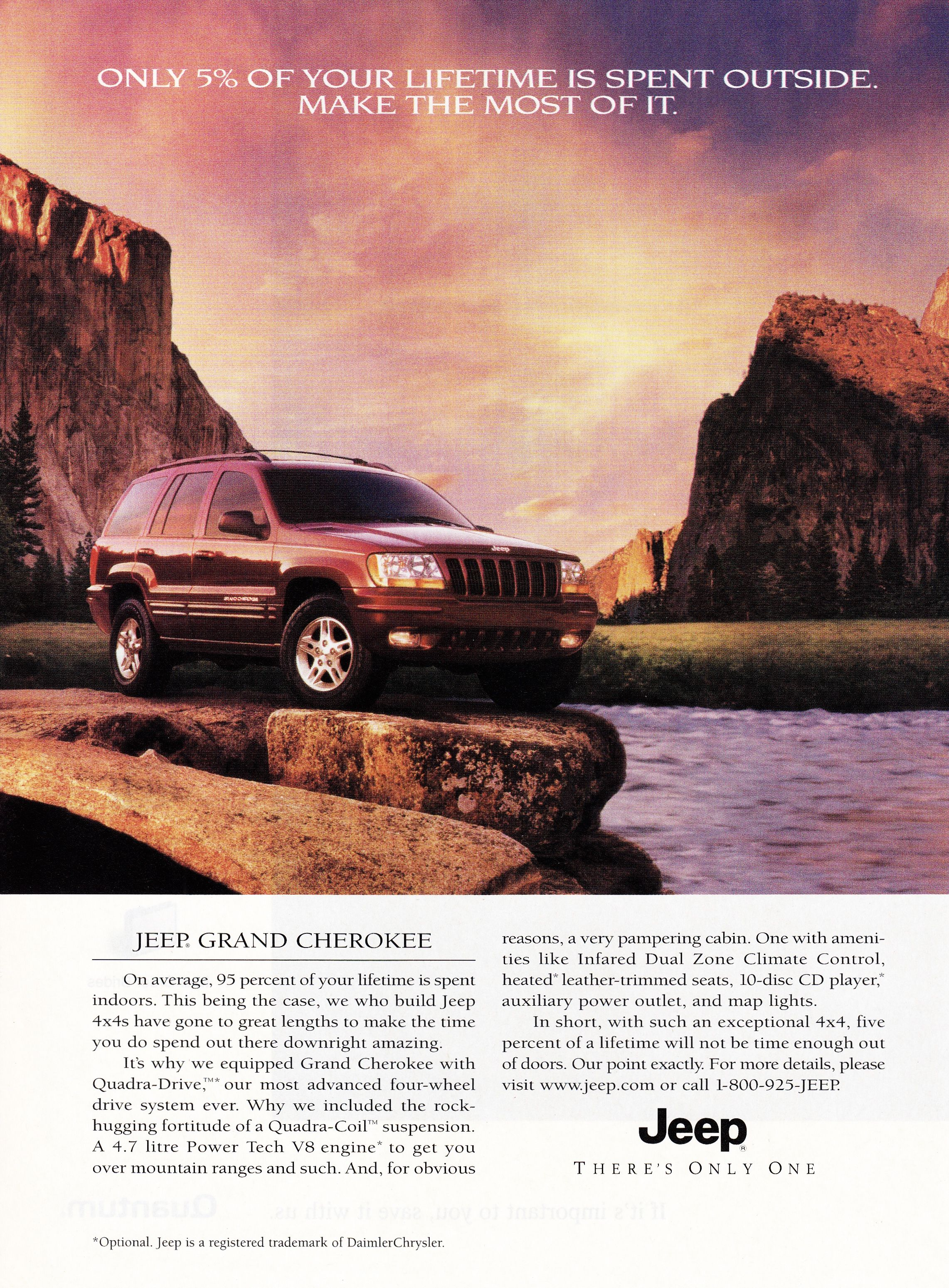 2000 Jeep Grand Cherokee Car Advertising Vintage Cars Car Ads