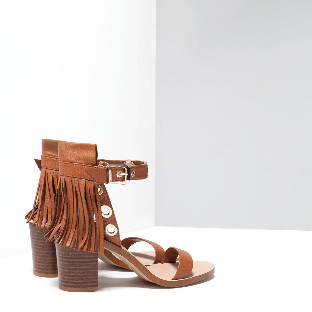 Tacón FlecosShoe Zara Sandalia Piel Obsession Mujer thsrBoQxdC