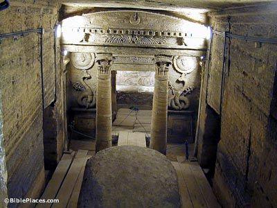 Alexandria catacombs principal tomb