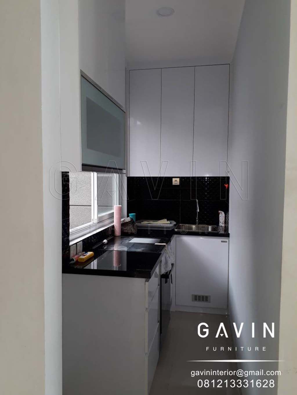 Untuk Kali Ini Kami Akan Membahas Mengenai Kitchen Set Dapur Sempit Untuk Salah Satu Project Di Graha Raya Bintar Dapur Kecil Interior Dapur Dapur Luar Ruangan