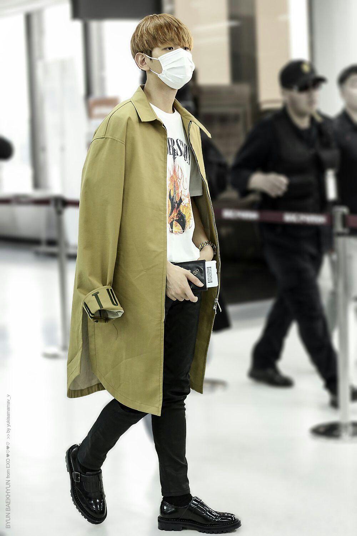 Baekhyun airport baekhyun pinterest baekhyun and exo
