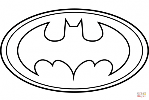 Batman Logo Coloring Page Free Printable Coloring Pages Clipart Best Clipart Best Batman Batma Batman Coloring Pages Printable Batman Logo Logo Outline