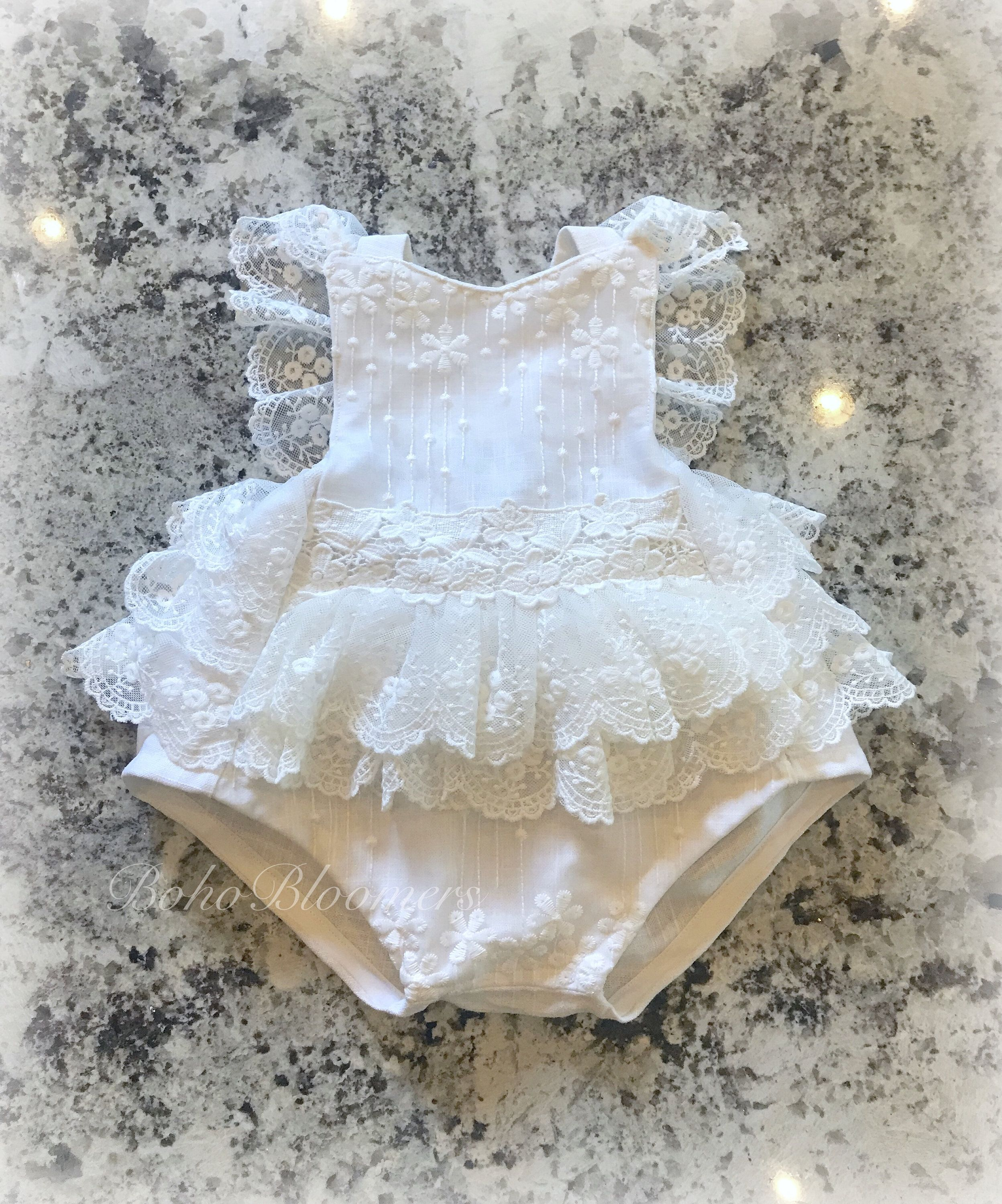 BABY GIRLS SATIN FRILL ROMPER PHOTOGRAPHY PROP MANY COLOURS