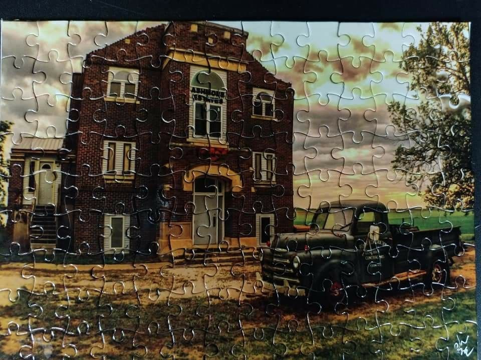 This is a new item for us a paranormal jigsaw puzzle