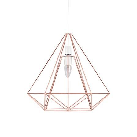Achica Copper Wire Retro Easy Fit Pendant Light Metal Ceiling Lamp Ceiling Lamp Shades