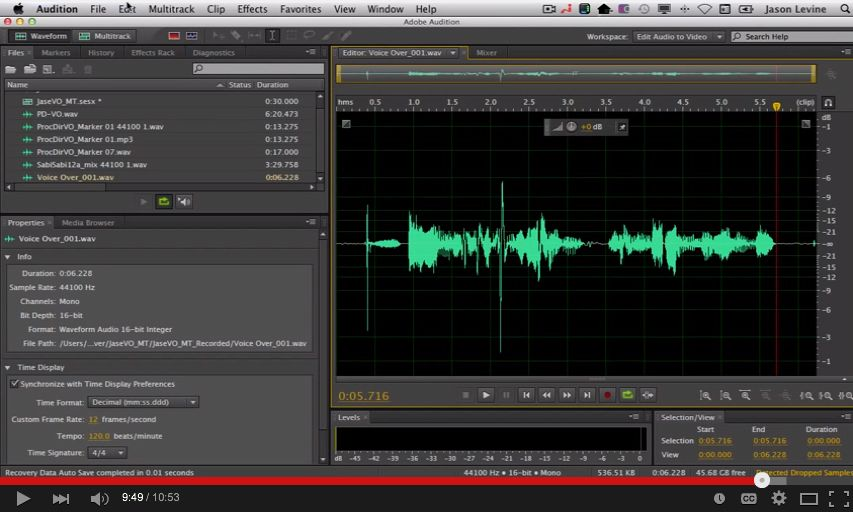 How To Record Audio In Adobe Audition Cs6 Https Www Youtube Com Watch V Eqqjcayawy8 Adobe Audition Audition Audio In