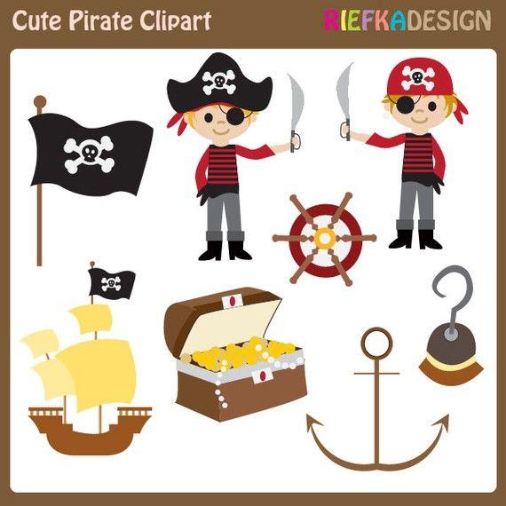 cute pirate clipart set boy pirate clipart set clip art digital rh pinterest com cute pirate girl clipart cute pirate ship clipart