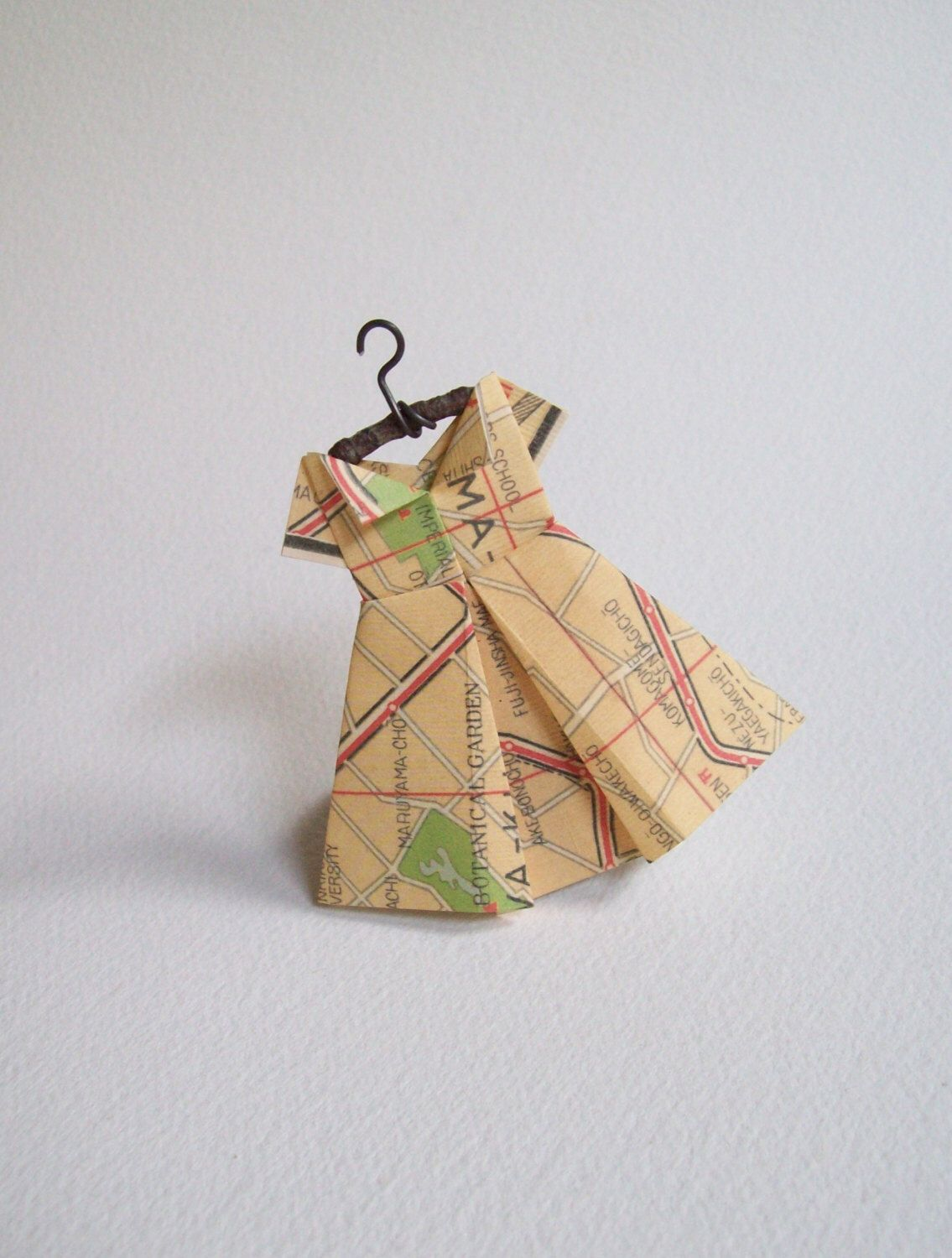 Tokyo boutique tokyo map dress travel theme paper dress tokyo boutique tokyo map dress travel theme paper dress ornament japan baby shower retirement world global japanese theme by scrappymade gumiabroncs Gallery