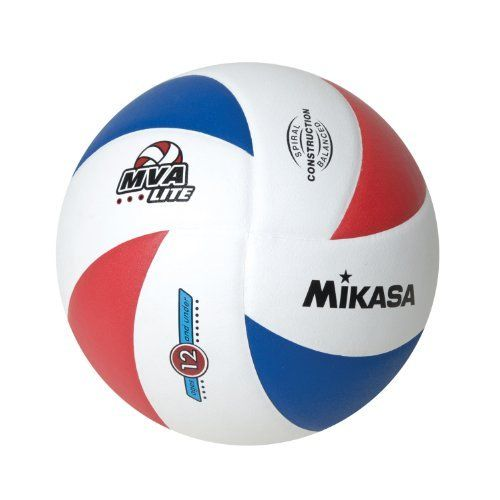 Mikasa Lite 8 Panel Official 12 And Under Volleyball Red White Blue Official By Mikasa 29 76 Mikasa Training Indoor Outdoor