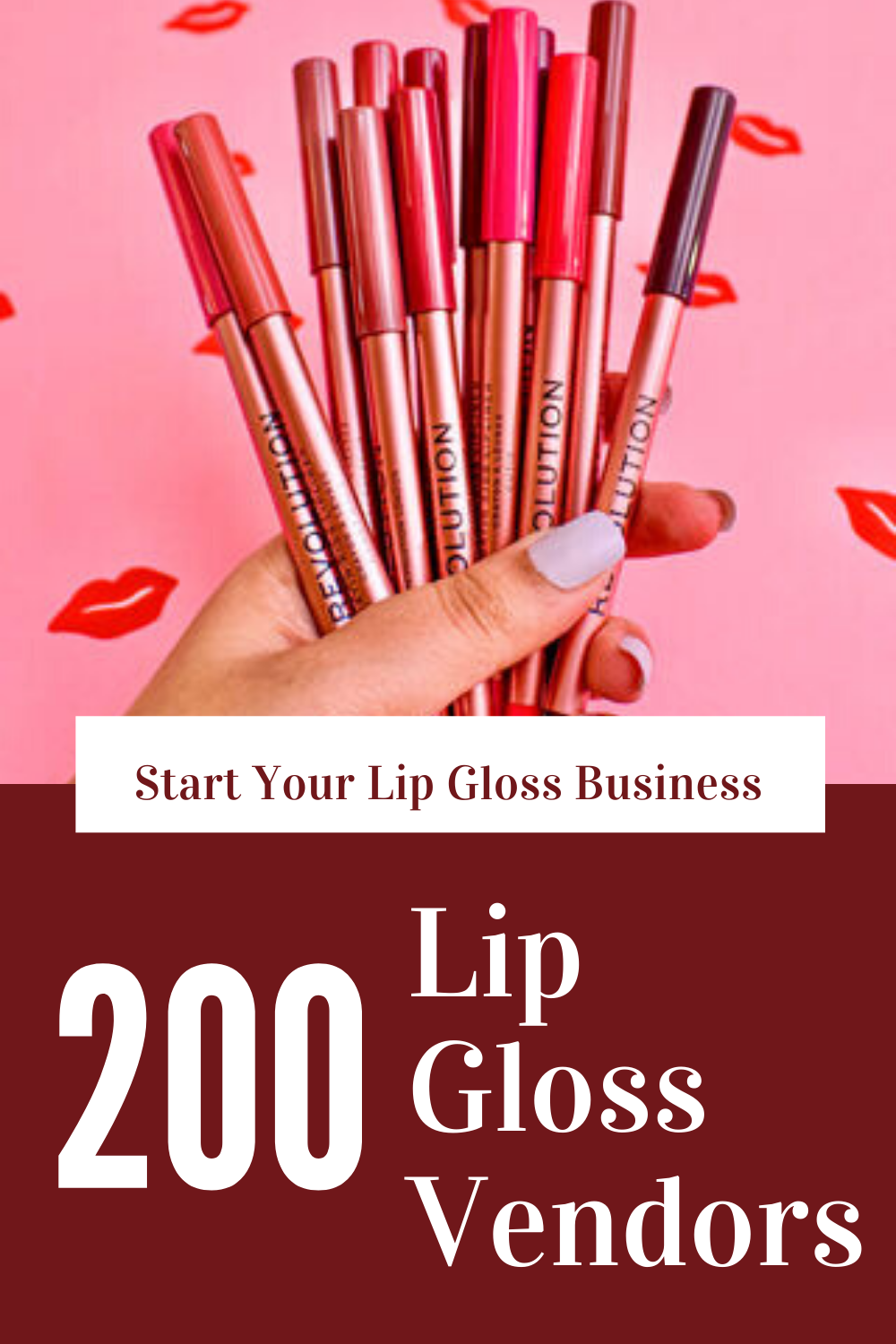 Starting a Lip Gloss Business in 2020 Lip gloss, Lips