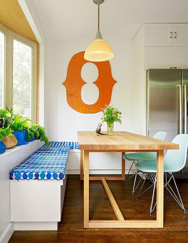 50 Einrichtungsideen für kleine Esszimmer - Ideen für die Küche - einrichtungsideen sitzecke in der kuche