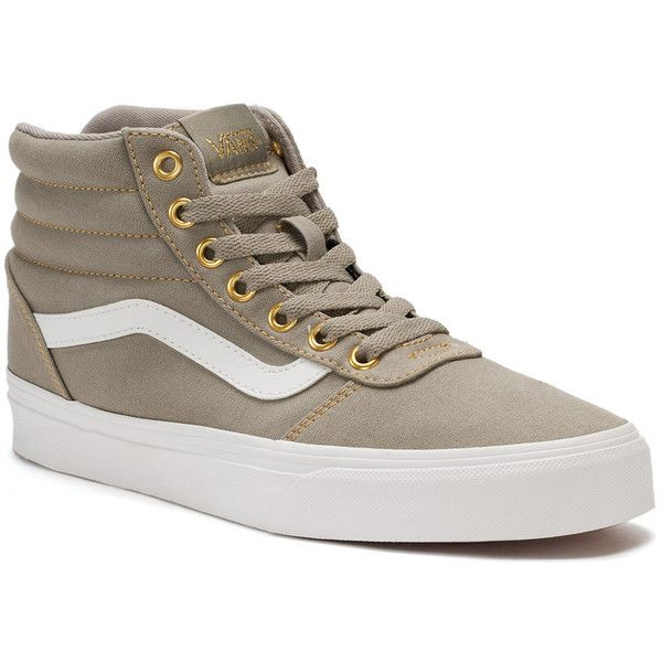 Vans Ward Hi Women s Skate Shoes ( 65) ❤ liked on Polyvore featuring shoes 02aa7e6d106