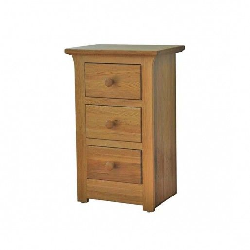 Siena 3 Drawer Bedside Furniture At Big Pine U0026 Oak Furniture Plymouth