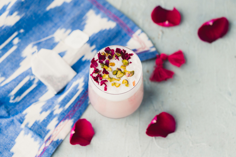 Hibiscus tea latte recipe with images tea latte