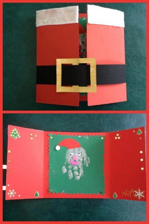 Carte Noel Bricolage Enfants Noel Noël D Enfants Et