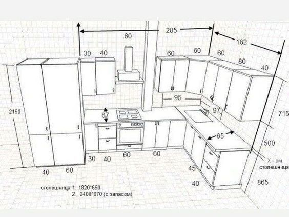 Standard Kitchen Dimensions And Layout Engineering Discoveries Kitchen Layout Plans Kitchen Layout Kitchen Room Design