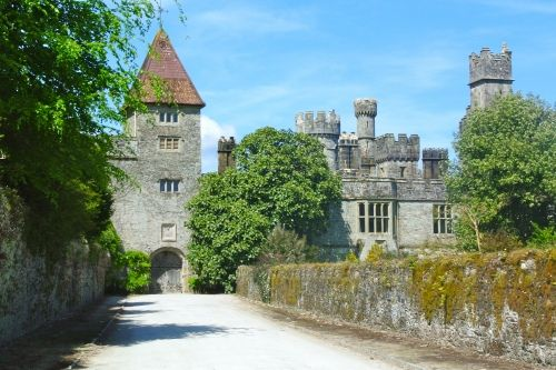 Fairytale like: the gorgeous and gothic Lismore Castle.