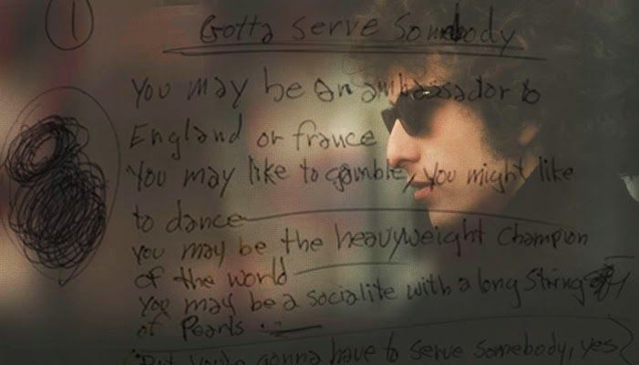Bob Dylan – You Gotta Serve Somebody October 20, 1979
