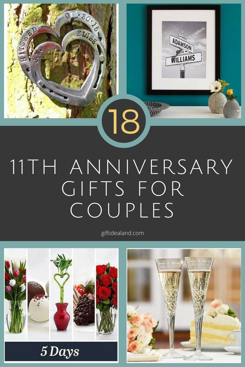 11th Year Wedding Anniversary Gift Ideas For Him Creativepoem
