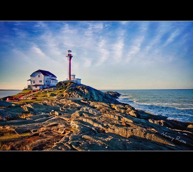 Cape Forchu Lighthouse Yarmouth Nova Scotia Nova Scotia Yarmouth Lighthouse