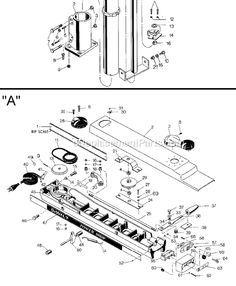 radial arm saw? dewalt 7770 parts list and diagram - (type 8) :  ereplacementparts com