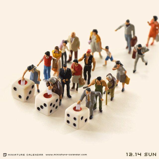 2014.12.14(日)/日本の未来を決めるのは運ではなく、あなたです。 今日は衆議院議員総選挙の投票日。