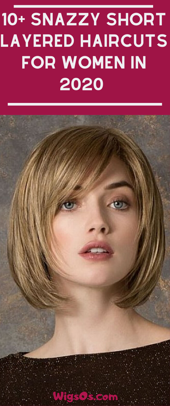 25 Awesome Short Layered Haircuts For Women 2020 Short Layered Haircuts Layered Haircuts For Women Short Bob Haircuts