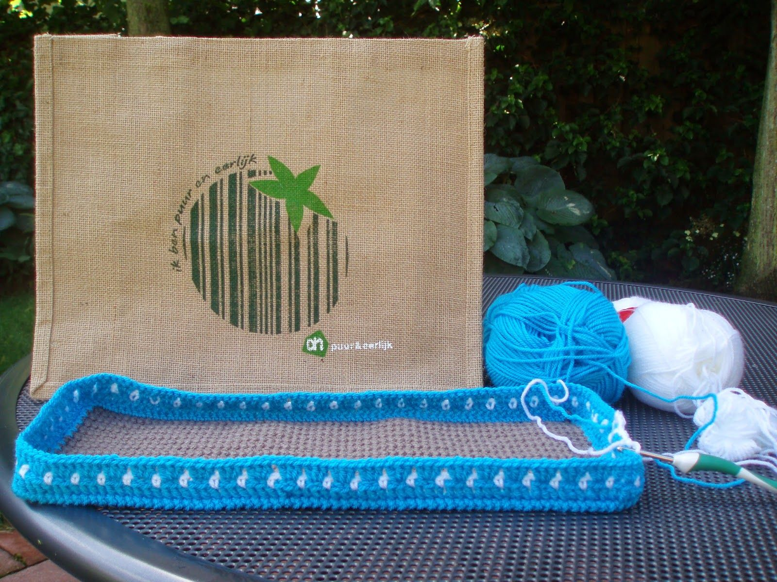 ah tas on pinterest crochet clutch haken and crochet tote. Black Bedroom Furniture Sets. Home Design Ideas