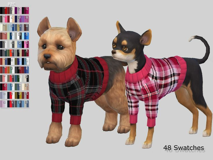 Sweaters for small dogs with plaid,tartan and argyle