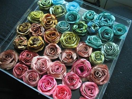 images about Wreaths Coffee filter roses