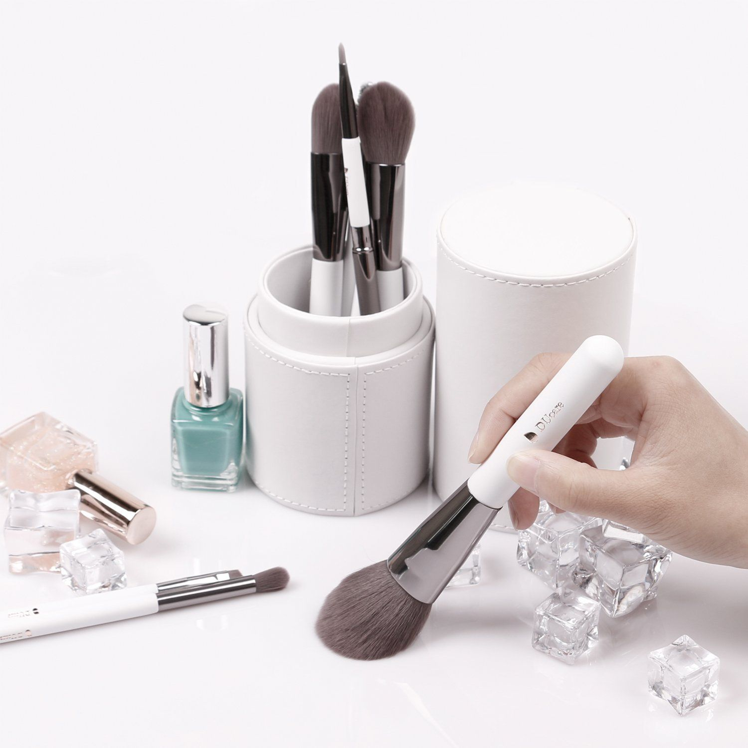 DUcare 8Pcs Make Up Brushes Sets Professional Cosmetic