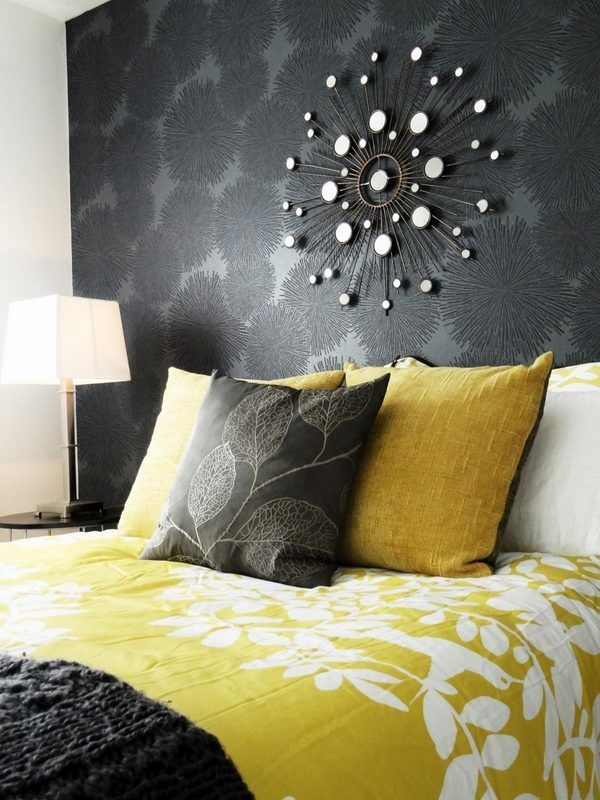 Grey And Yellow Bedroom Interior Trendy Color Scheme For Your Home Contemporary Bedroom Home Bedroom Home