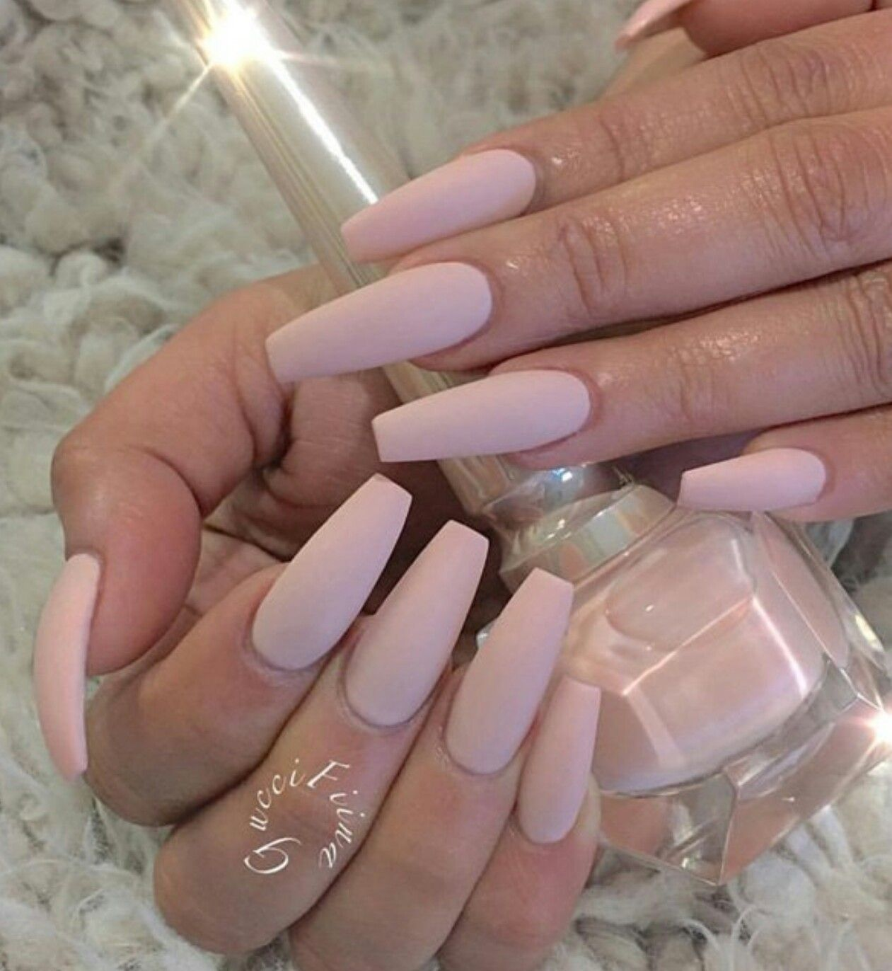 Try Out This Beautiful Pale Beige Matte Nail Polish Simplicity Is Beauty