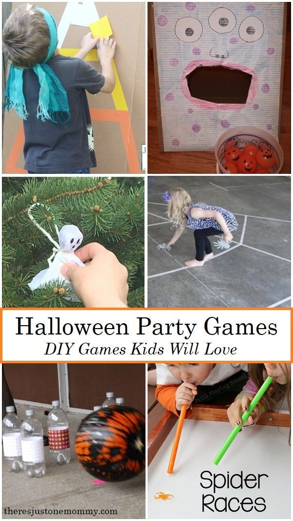 DIY Kids Halloween Party Ideas halloweeen Pinterest Halloween - halloween party ideas games