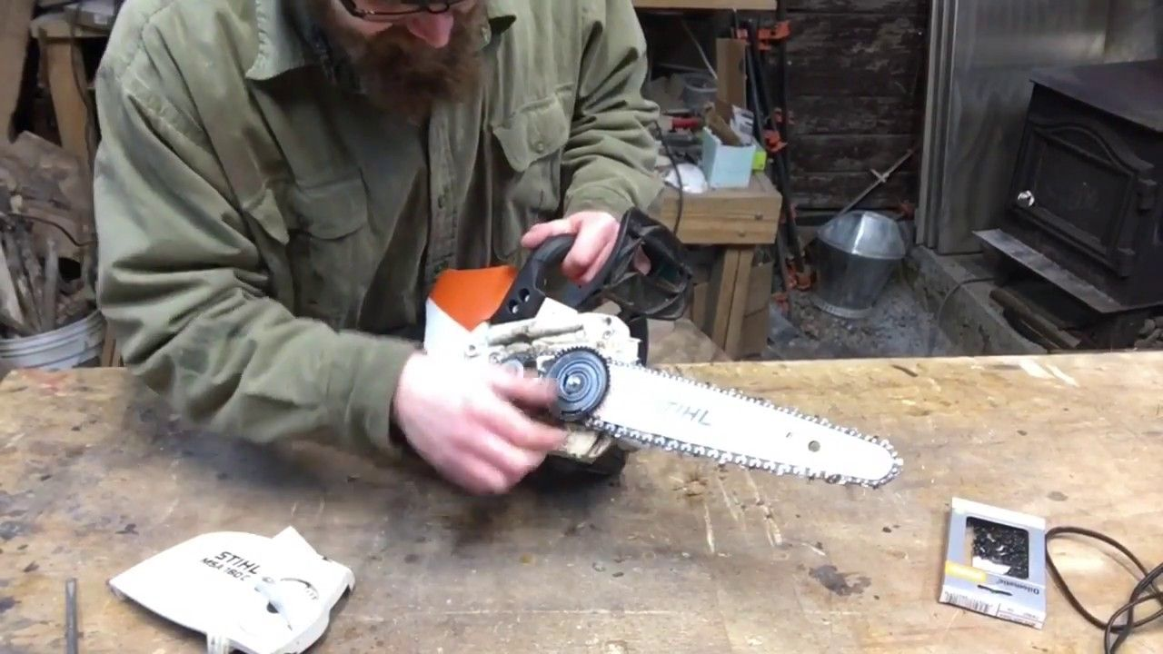 How to put a new chain on a stihl chainsaw gallery wiring table how to put a new chain on a stihl chainsaw images wiring table how to put greentooth