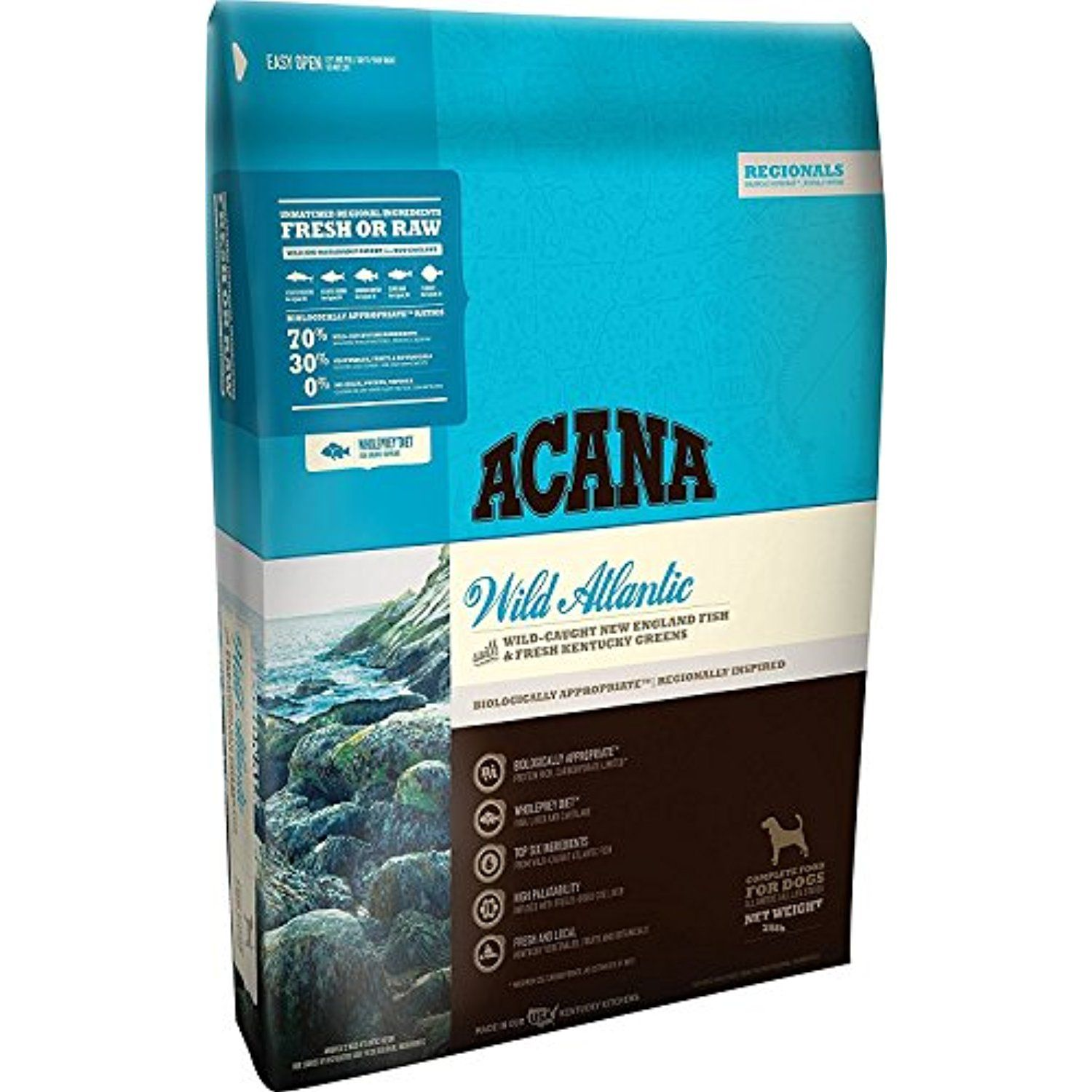 Orijen Acana Regionals Wild Atlantic Dry Dog Food, 25 lb