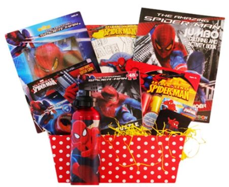 Fit easter basket for a spider man lover healthy holidays miss fit easter basket for a spider man lover negle Image collections