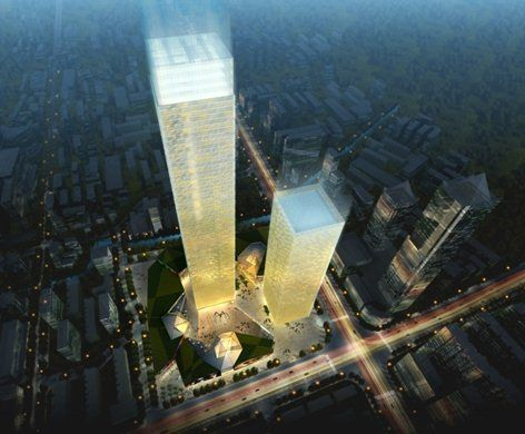 Suzhou New CBD Commercial Complex, Suzhou, 2012 - Guillermo Bosque