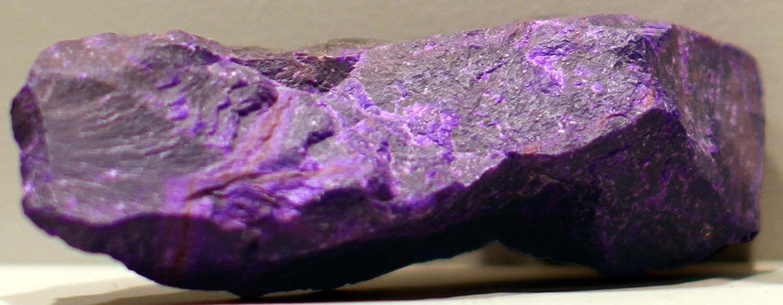 Slab of sugilite