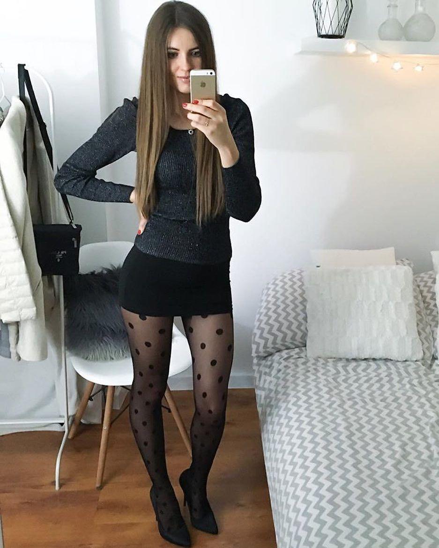 kurzen rock und socken sexy selfies