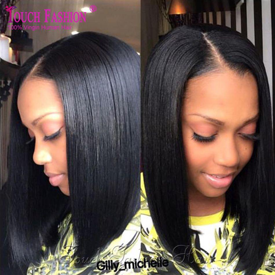 Hot short bob wigs for black women full lace bob human hair wig