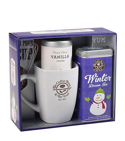 Winter Dream Tea Latte Gift Set The Coffee Bean Tea Leaf Official Store Tea Latte Dream Tea Handcrafted Tea