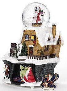 Disney Nightmare Before Christmas Snow Globe Nightmare Before Christmas Snowglobe Nightmare Before Christmas Disney Snowglobes