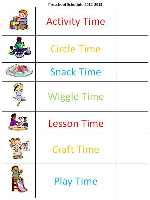 Pin by betsy hernandez dunnigan on kids educational puzzles preschool daily schedules pronofoot35fo Choice Image