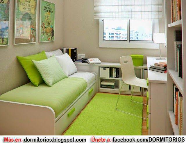 Interior Design For Small Bedroom Ideas New Consejos Para Dormitorios Muy Estrechos  Decoraciones Muebles Design Decoration